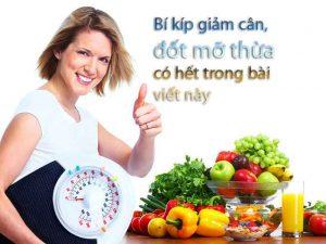 Thực phẩm giảm cân đốt mỡ