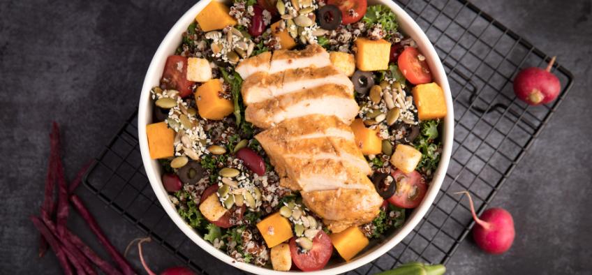 Dinh dưỡng toàn diện, chìa khóa tăng cân