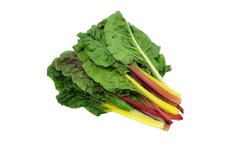 Cải cầu vòng nhiều chất chống oxy hóa, nhiều vitamin K, vitamin C, magiê, đồng và vitamin E