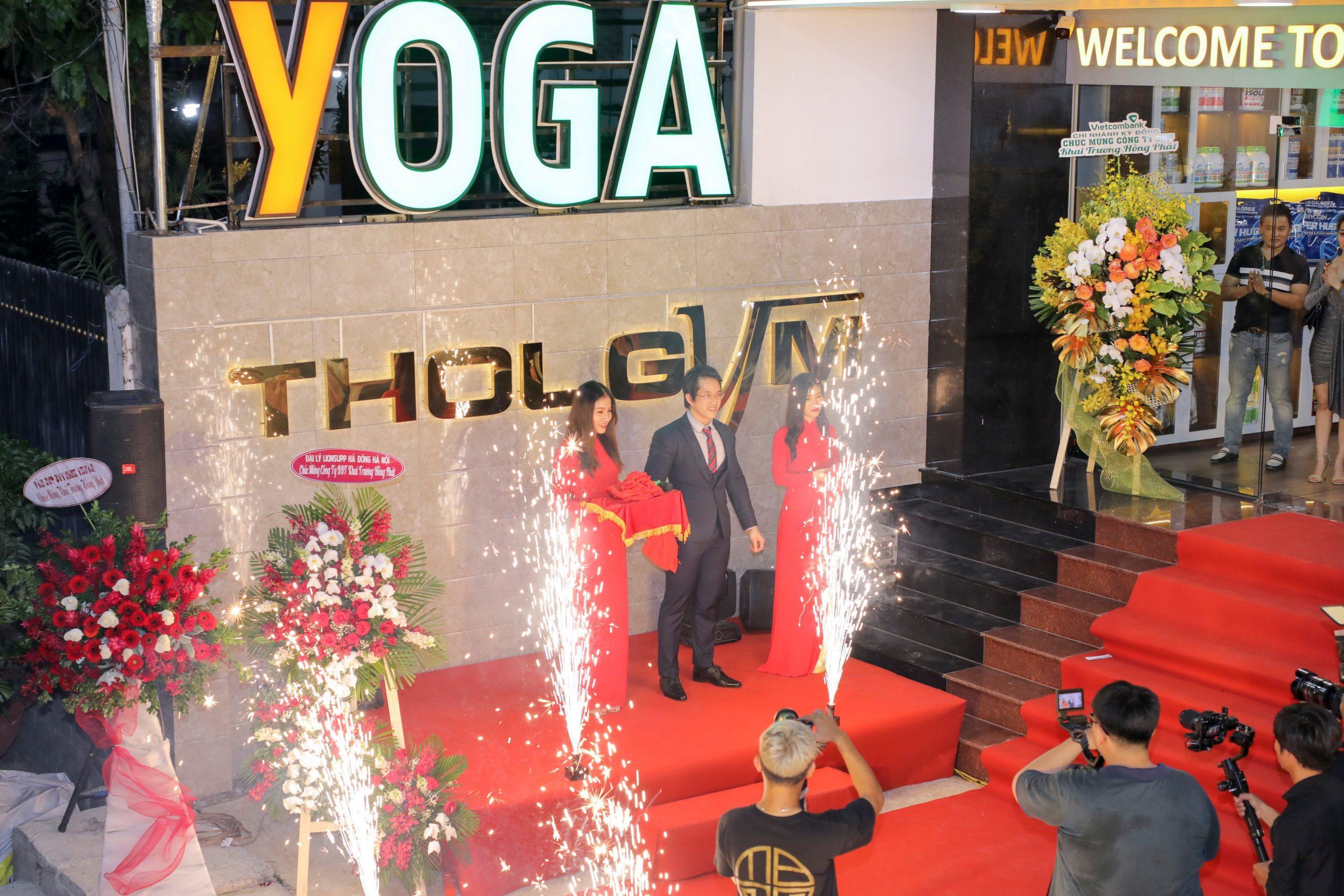 Ngày 20/10/2020, Thol Gym Center Quận 9 chính thức khai trương