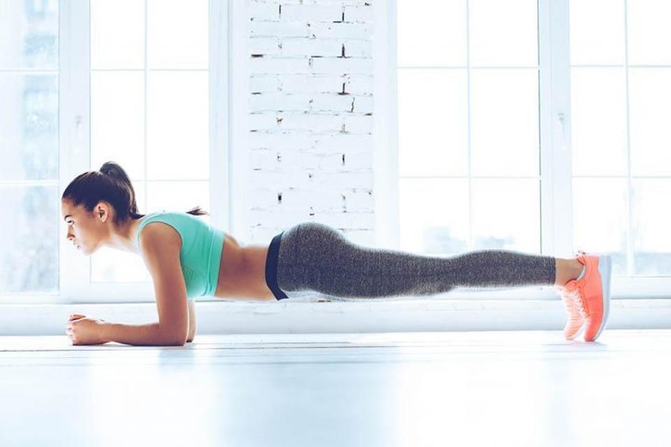 plank cardio đốt mỡ bụng