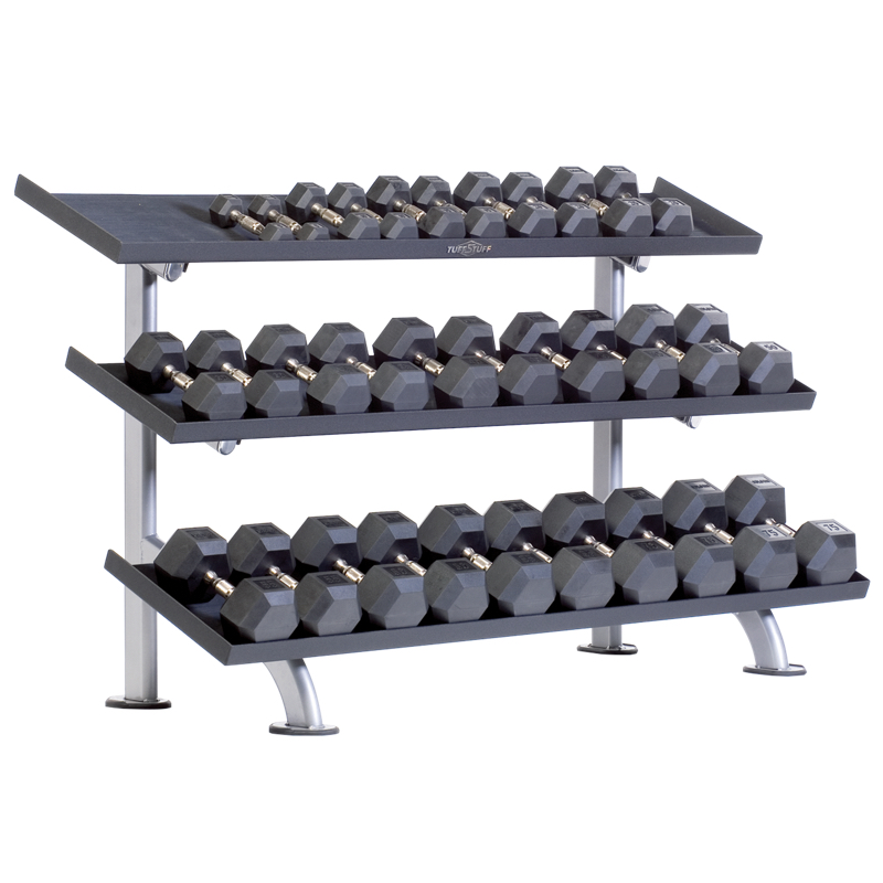 PPF-754T Tray Dumbbell Rack 3-Tier