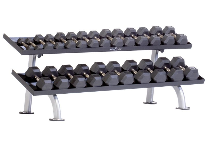 PPF-752T Tray Dumbbell Rack 2-Tier