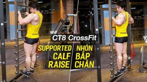 Supported Calf Raise, nhón bắp chân trên máy CT8 Crossfit