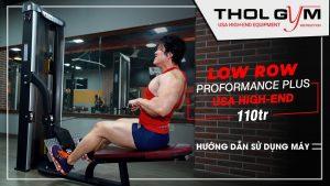 PPS Low Row - Máy tập lưng đỉnh cao, giúp phát triển cơ lưng cực tốt.
