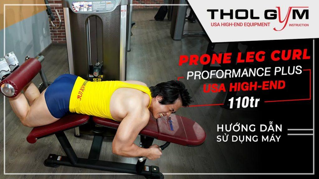 Prone Leg Curl, thiết bị tập luyện tuyệt vời cho cơ đùi sau và mông.
