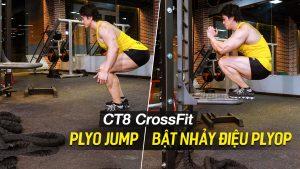 PLYO JUMP - Bài tập Gym tuyệt vời cho sức khỏe tim mạch trên máy CT8