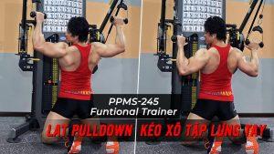 Lat PullDown - Hướng dẫn tập kéo lưng xô trên máy Functional Trainer