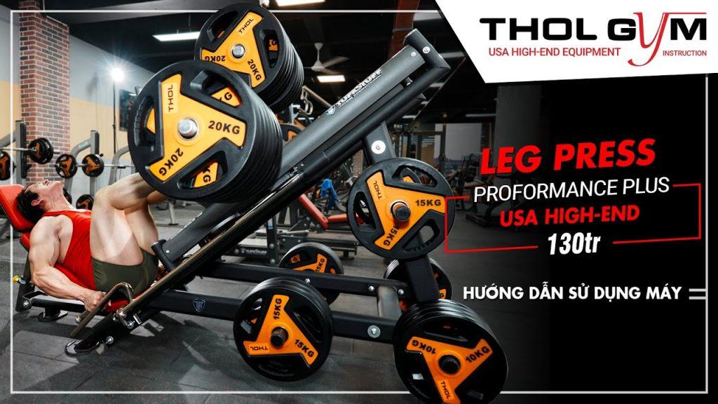PPL LEG PRESS - Cách sử dụng máy tập chân mông đùi tại THOL GYM